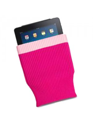 Sock Case for Apple iPad - Hot Pink