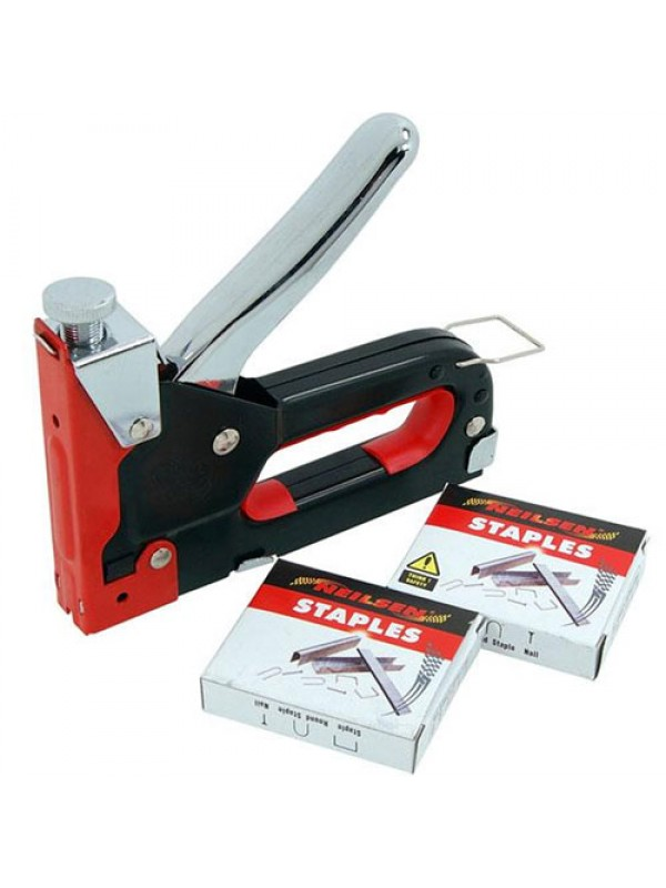 3 In 1 Staple & Nail Gun - With 600 Nails & Staples Included