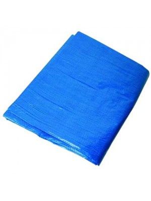 Waterproof Tarpaulin Groundsheet - 3.0m x 3.6m