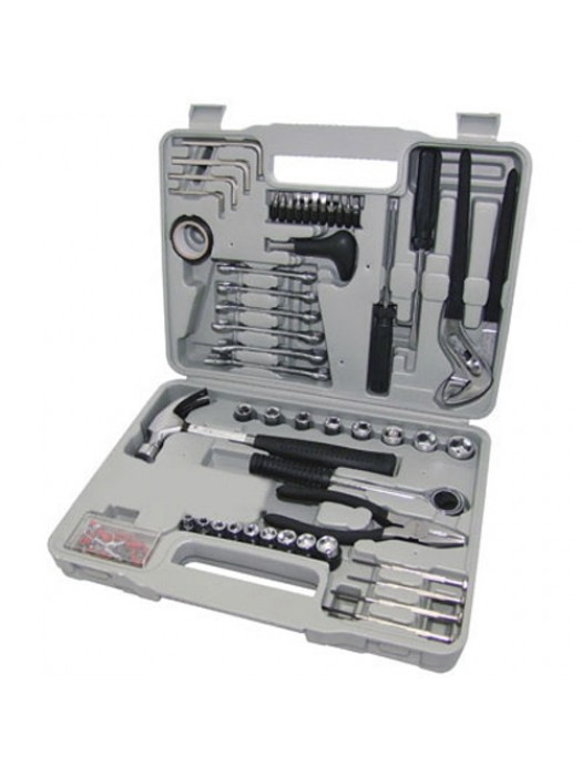 141 Piece Complete D.I.Y Screwdriver, Socket, Hammer Tool Kit