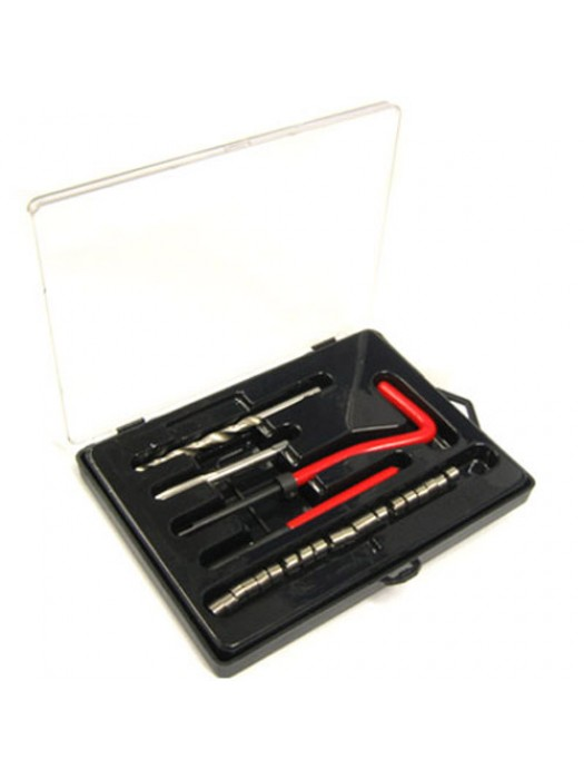 25 Piece M8 Thread Repair Kit M8 x 1.25 x 10.8mm Helicoil Type