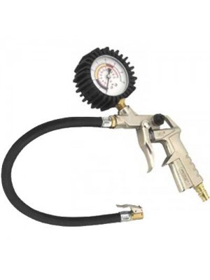 Tyre Air inflator with Pressure Dial Guage