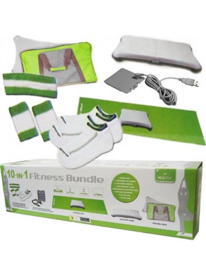 Wii Fit 10 in 1 Fitness Bundle Accessory Pack
