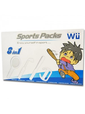 Nintendo Wii 8 in 1 Sports Accessory Pack