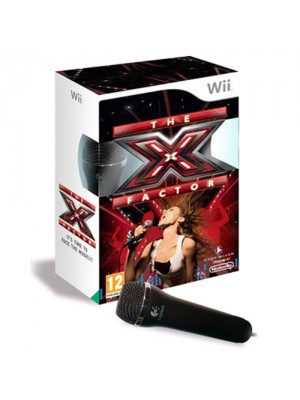 The X Factor Game For Nintendo Wii (1 Microphone included)
