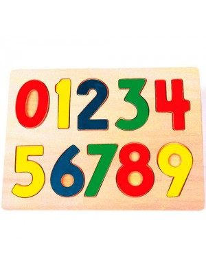 Wooden 123 Number Educational Learning Children's Puzzle Toy