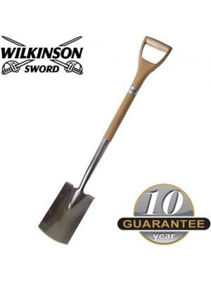 Wilkinson Sword Stainless Steel Border Spade