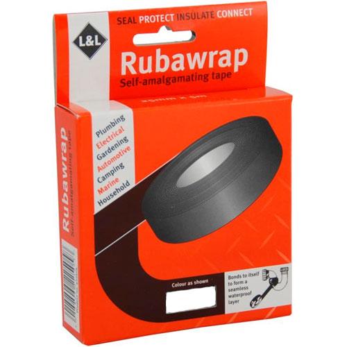 Leak Seal Tape : Plumbing tape to stop leaks l rubawrap leak seal self
