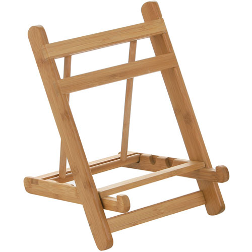 Wooden Cook Book Cookery Display Stand Bamboo Book Holder