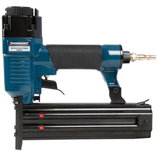 Lightweight Air Brad Nailer 50mm 18 Gauge - Soft Grip Handle