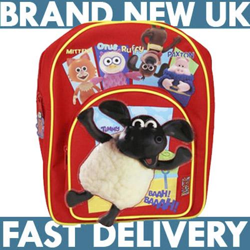 98e912db61 NEW KIDS SHAUN THE SHEEP TIMMY TIME BACKPACK SCHOOL BAG