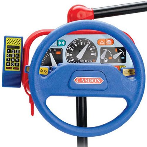 Toy Car: In Car Steering Wheel Toy
