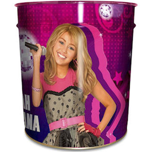 NEW OFFICIAL HANNAH MONTANA RTS WASTE BIN FOR BEDROOM