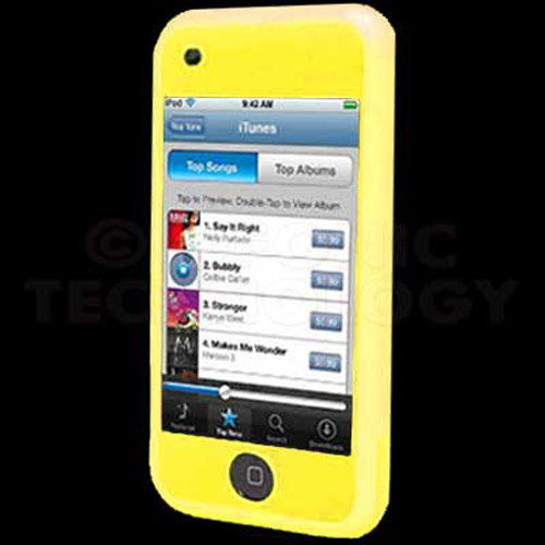 ipod touch yellow case