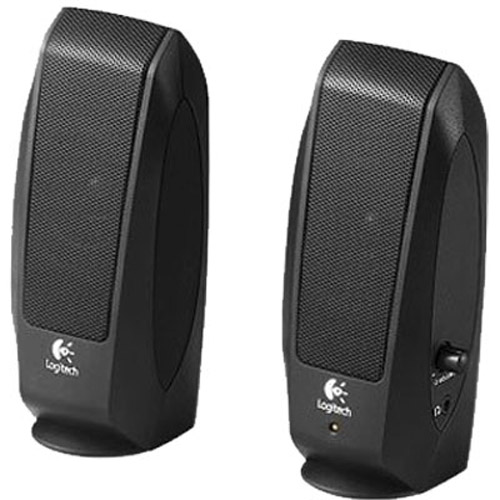 LOGITECH S120 2 0 Speakers Black