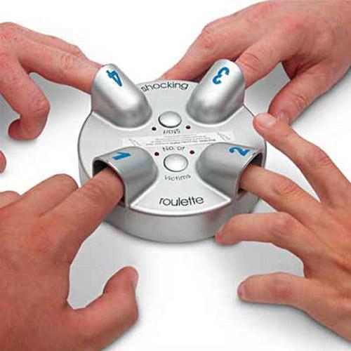 Russian roulette finger shocker project taken gamble