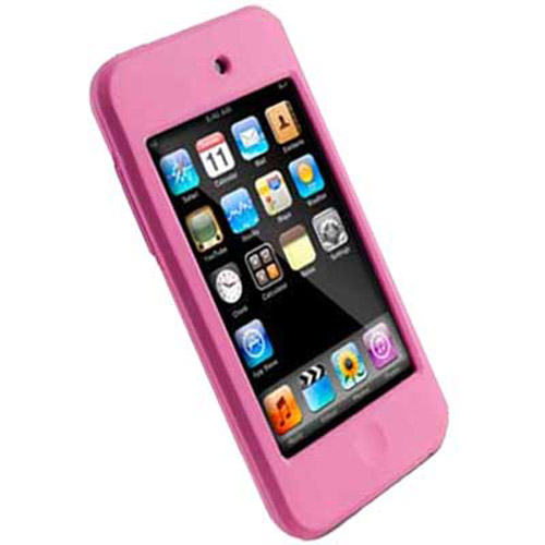 A similar pink iPod Touch leather case selling at Harvey Norman.