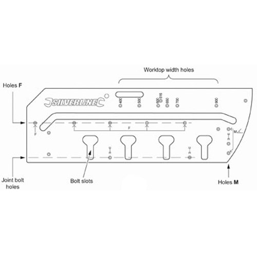 Kitchen Worktop Jig Instructions