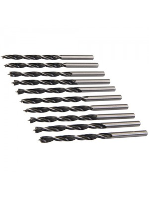 Silverline 10 Pack Lip And Spur 4mm Drill Bits