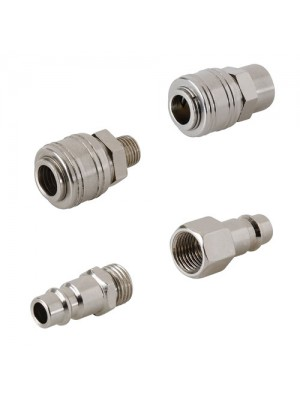 Quick Release Euro Compressed Air Line Coupler Connector Kit