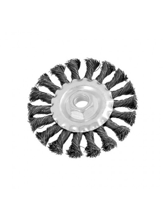 100mm 4 Inch Twist Knot Wire Brush Angle Grinder Wheel