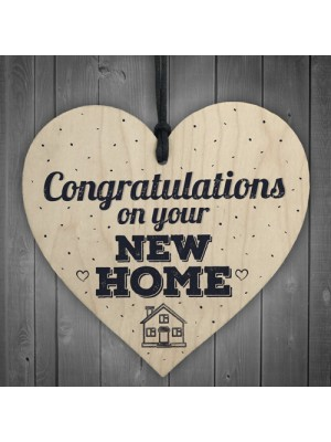 Congratulations New Home Plaque First House Friendship Family