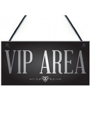Vip Area Man Cave Home Bar Sign BBQ Beer Garden Party Dad