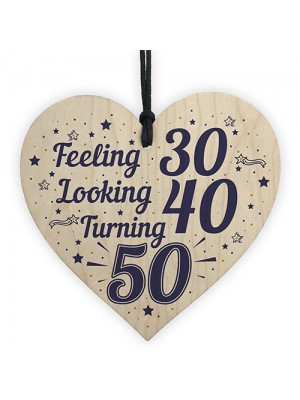 50th Birthday Decorations Accessories Funny Gifts For Friend