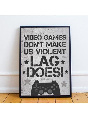 Funny Gamer Gifts Son Dad Gifts Gaming Framed Prints For Wall