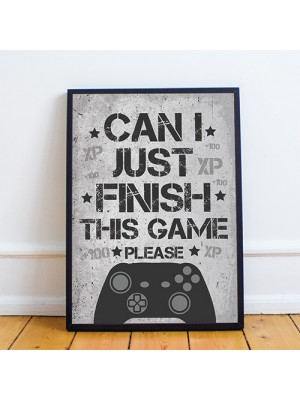 Gaming Print For Boys Bedroom Man Cave Sign Games Room Sign