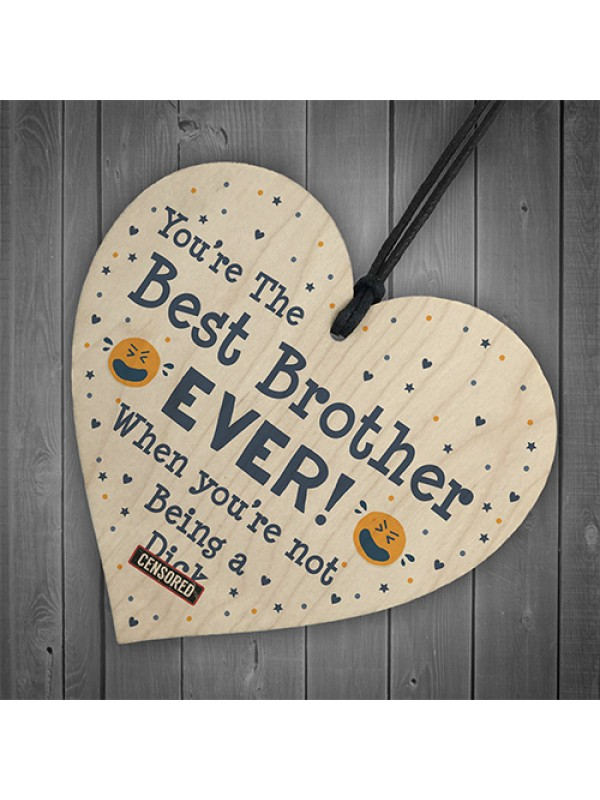 Funny Brother Gifts Birthday Christmas Rude Gift Idea Novelty