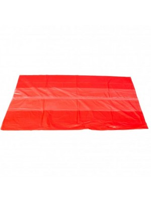 Red Dissolving Seam Laundry Bags Care Homes Infection Control