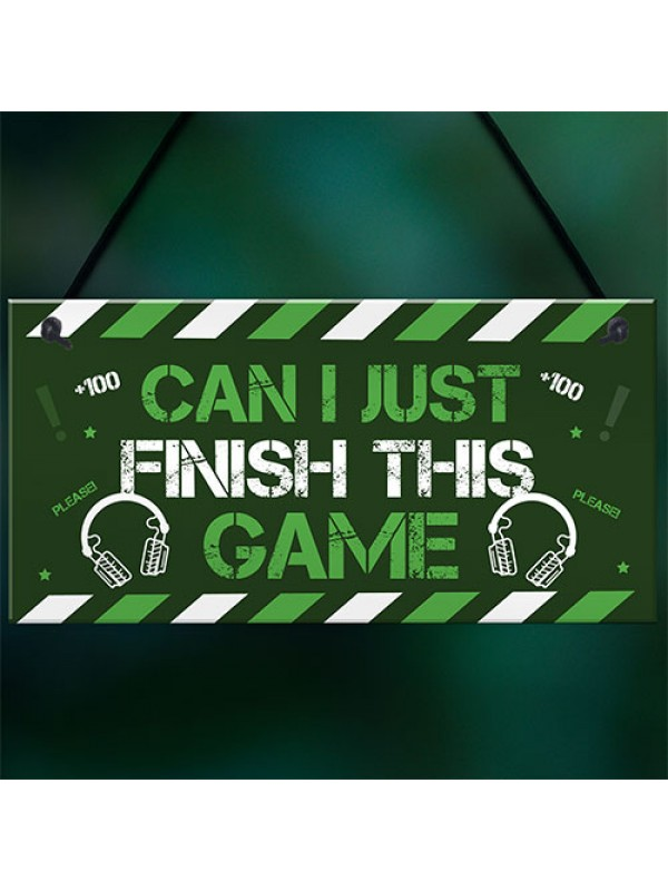 Gaming Signs Boys Bedroom Sign Christmas Gift For Him Novelty