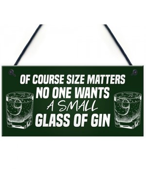 Funny Gin Sign Gifts For Her Novelty Home Bar Man Cave Alcohol