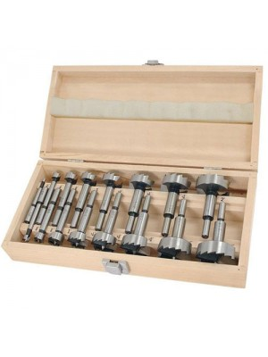 Pro Quality 16 Pc Wood Working Forstner Drill Bits Set Cutter