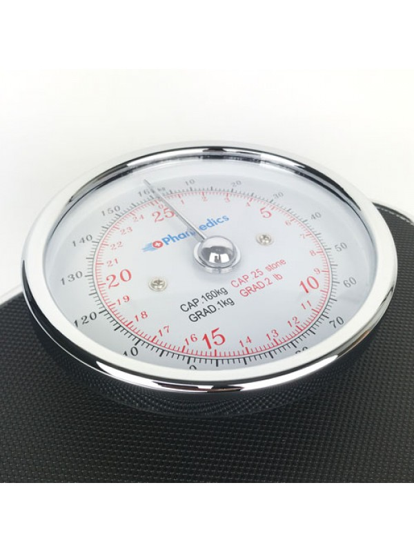 Medical Style Bathroom Weighing Scales Analogue Display