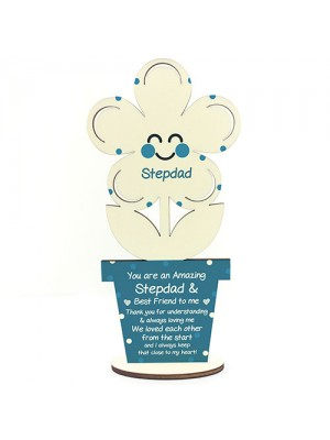Novelty Gift For Stepdad Birthday Fathers Day Poem Thank You