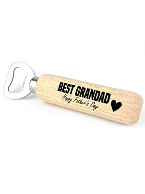Fathers Day Gift For Best Grandad Grandfather Bottle Opener