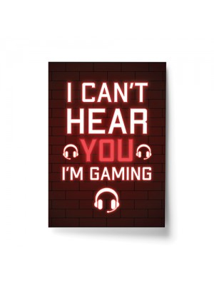 Funny Gaming Print Poster For Boys Bedroom Games Room Gifts