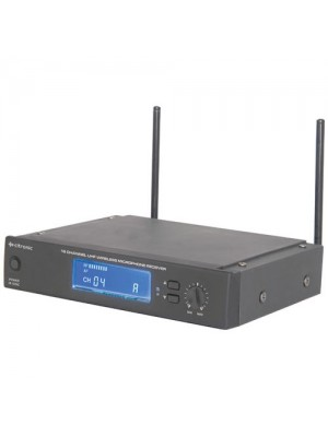 16 Channel UHF Wireless Synthesised Microphone Infrared Reciever