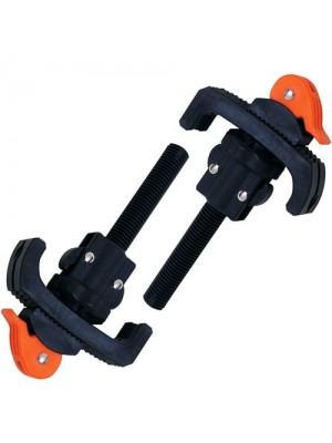 2 Piece Quick Release Workbench Clamps Fits 18-38mm Holes