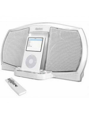 iRhythm A-302 - iPod Docking Speakers - WHITE