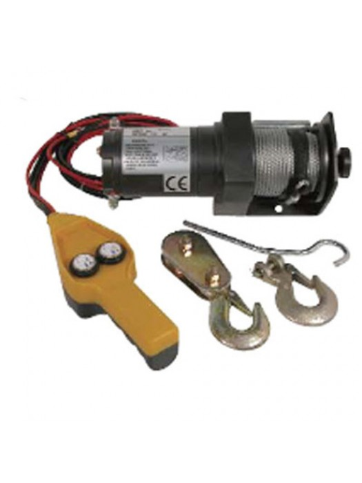Heavy Duty 1000 To 2000LB 12V Electric Reversible Winch