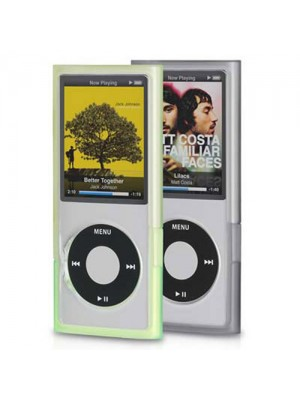 Griffin Wave Case for iPod Nano 4G - Black and Green
