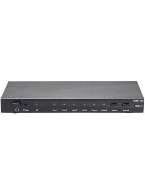 HDMI Matrix 4 x 2 4 Inputs 2 Outputs with Remote