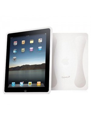 Cygnett Second Skin Silicon Case & Base Support for iPad Clear