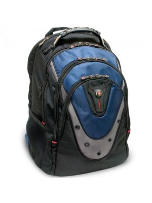 Wenger Swissgear iBex Backpack For Notebooks (Blue, Black, Grey)