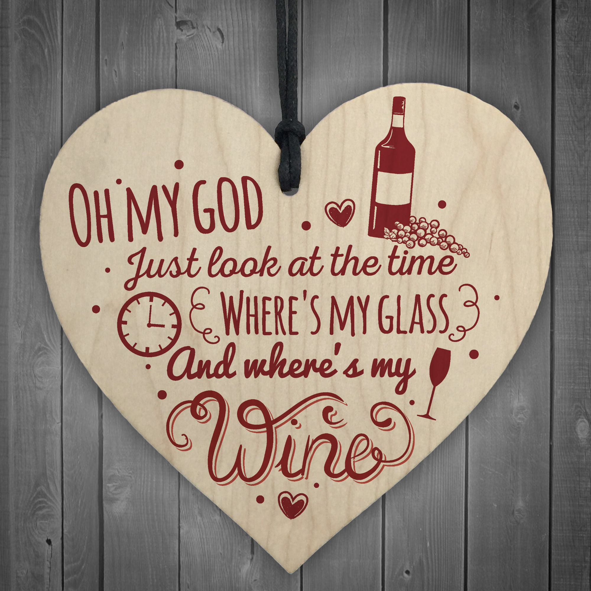 Where S My Wine Funny Alcohol Gift Home Bar Plaque Pub Friends Best