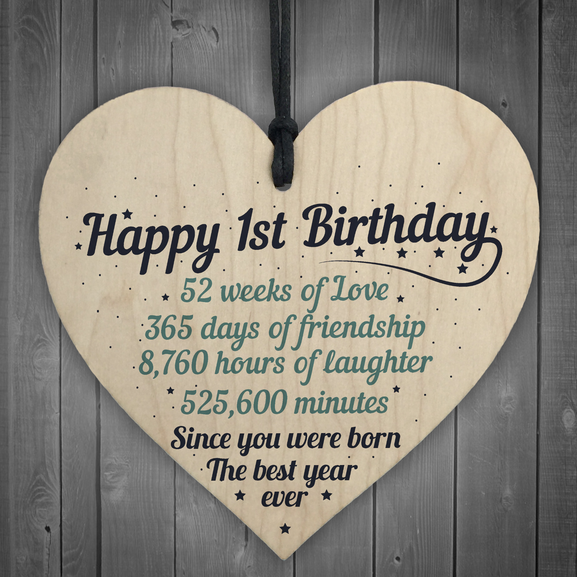 Details About 1st First Birthday Baby Daughter Son Grandson Grandaughter Nephew Niece Gifts