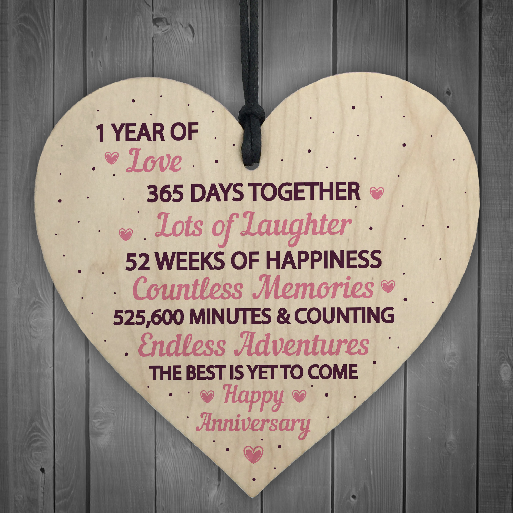 1 Year Wedding Anniversary Gifts For Her.Details About 1st Wedding Anniversary Gift Wood Heart First Wedding Anniversary Gift For Wife